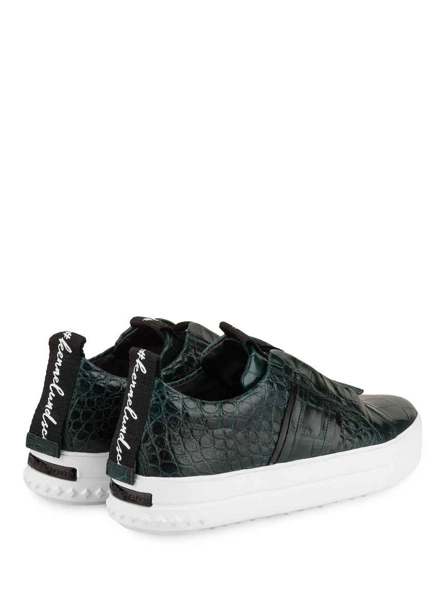 Sneaker Mega Von Kennel & Schmenger Grün/ Schwarz Black Friday