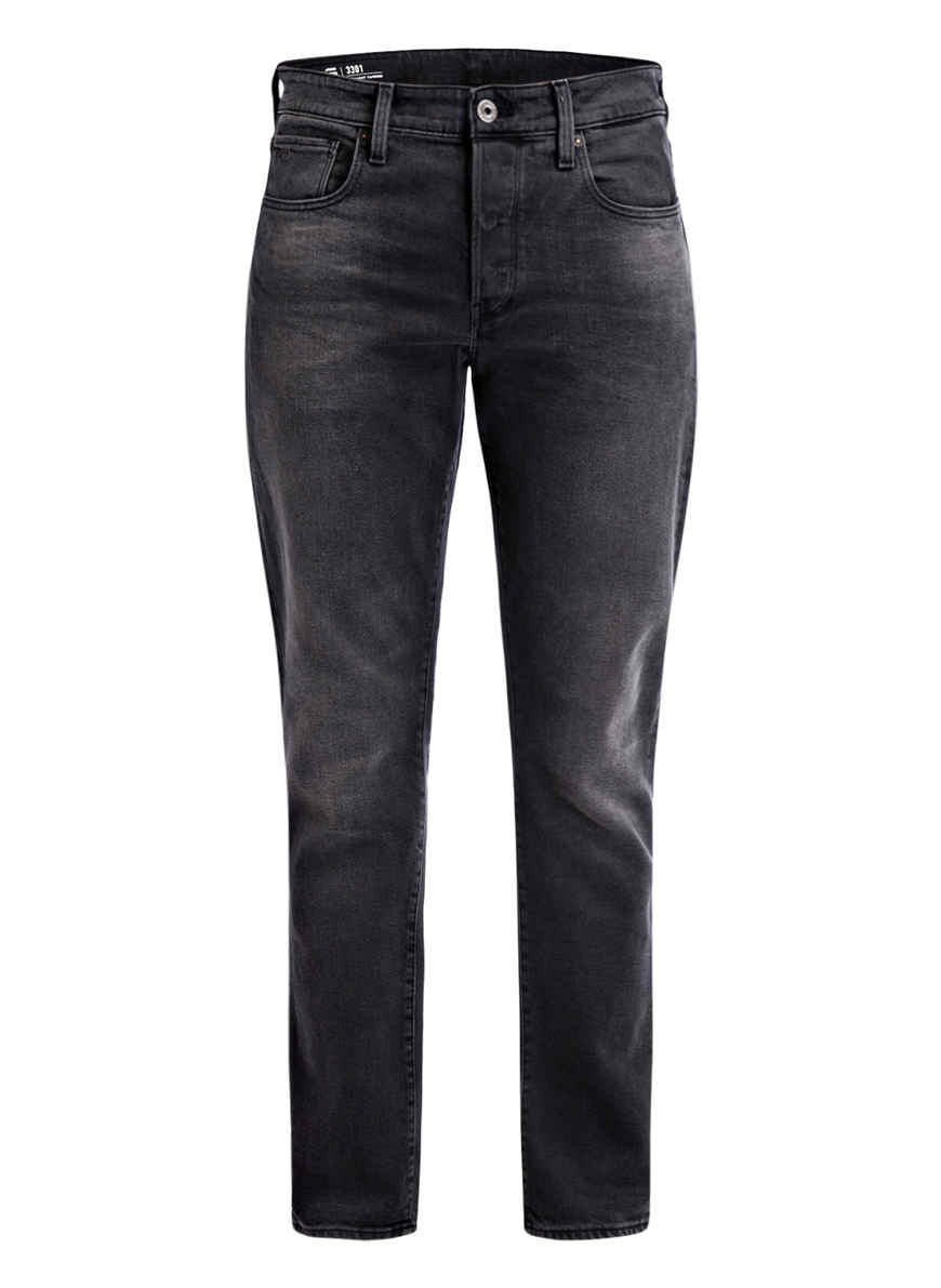 Raw Faded Von Kaufen star 3301 Bei Tapered Jeans G Fit Charcoal Black cRALj35q4S