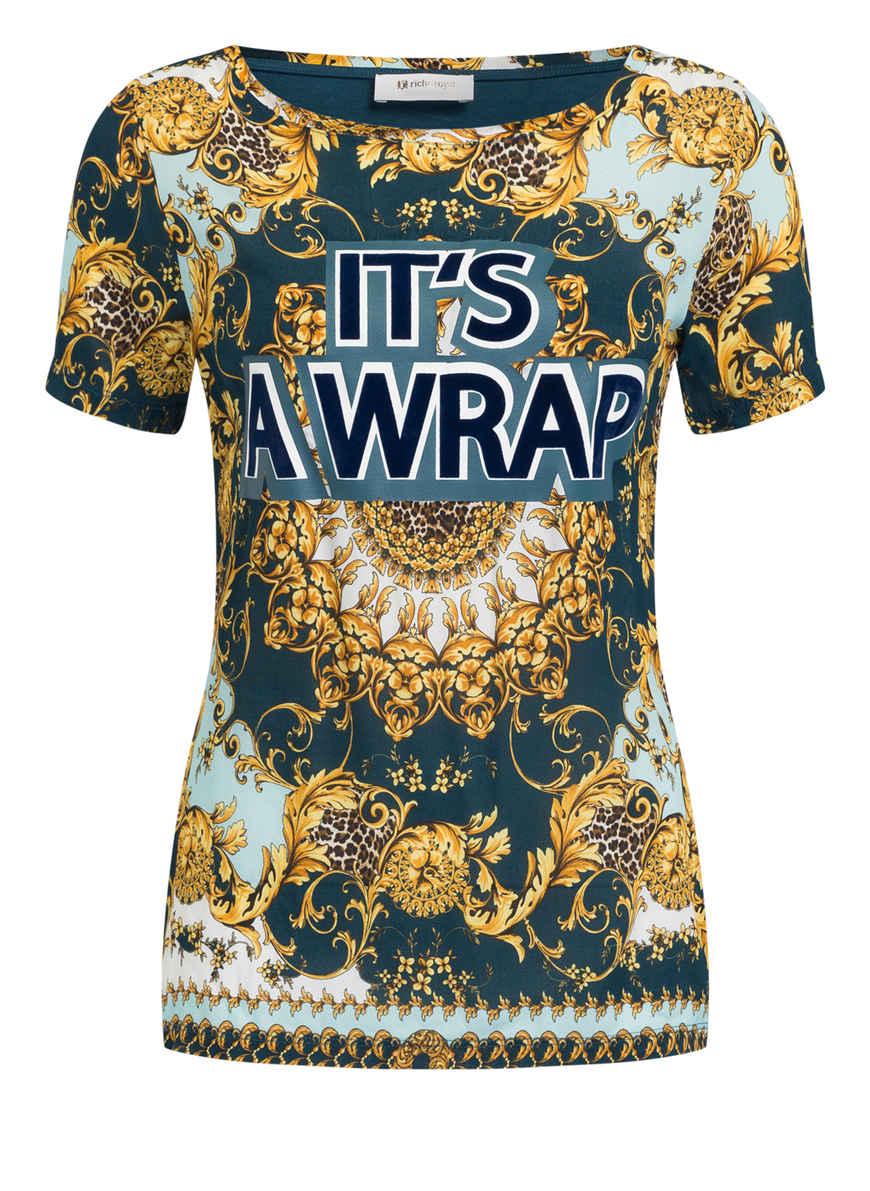 amp;royal Kaufen Von shirt T Im Materialmix PetrolGelbMint Rich Bei EWDHI29