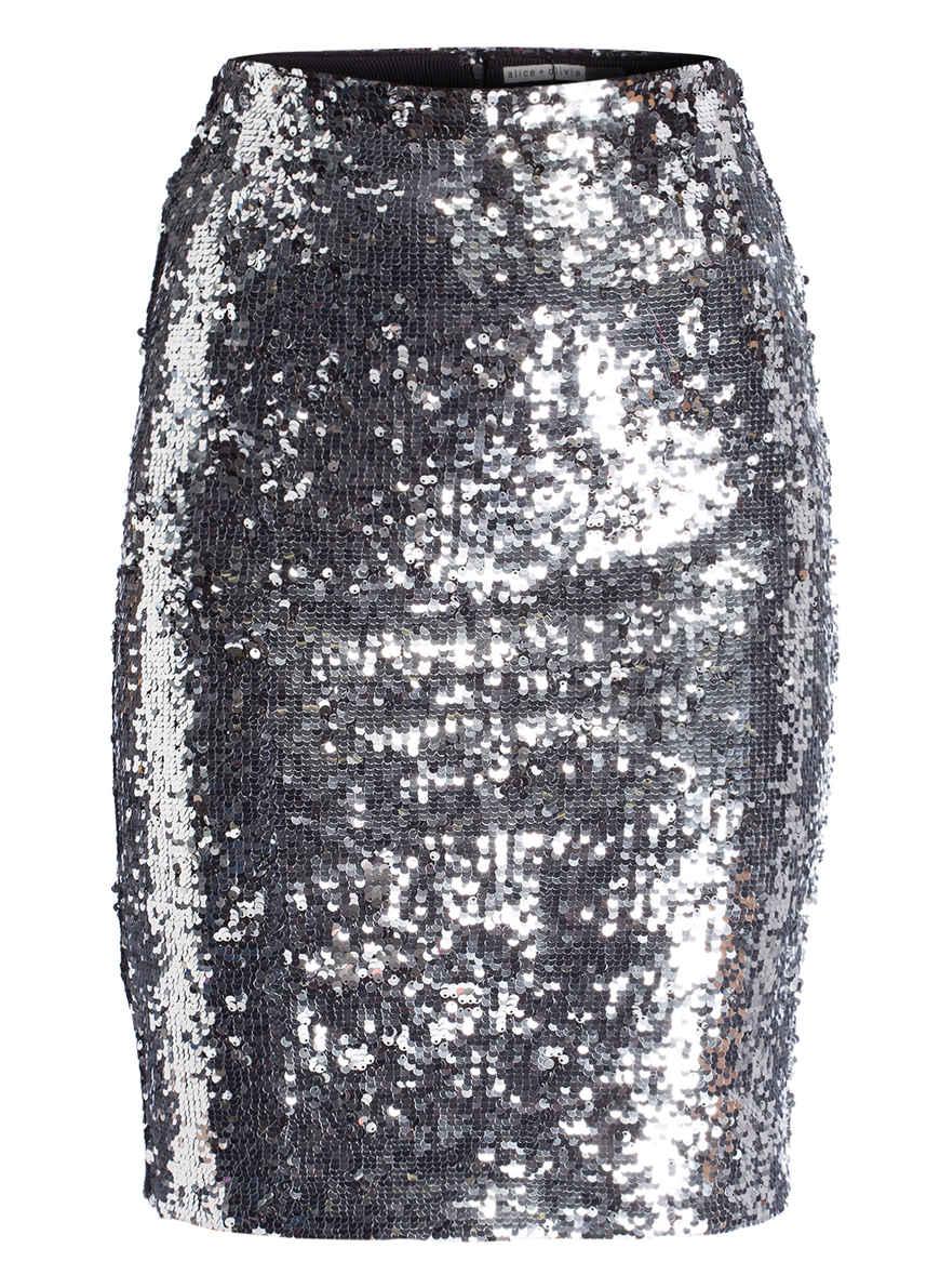olivia Von Alice Kaufen Silber Paillettenrock Ramos Bei EIH2D9