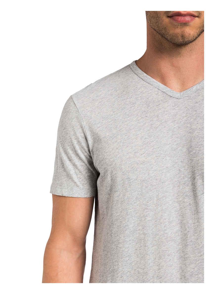T-shirt Von Juvia Grau Meliert Black Friday