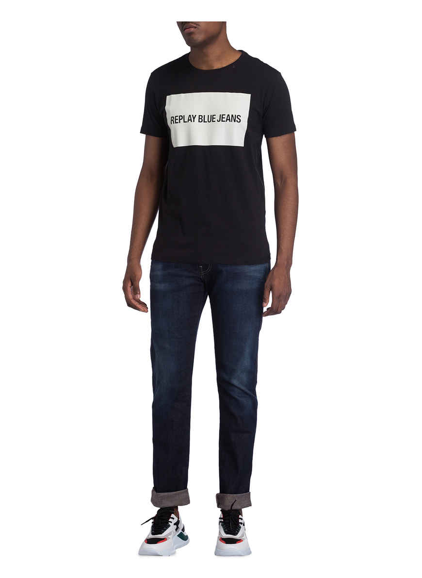 Bei Anbass Blue 009 Von Jeans Slim Replay Fit Kaufen Medium nvN0w8m