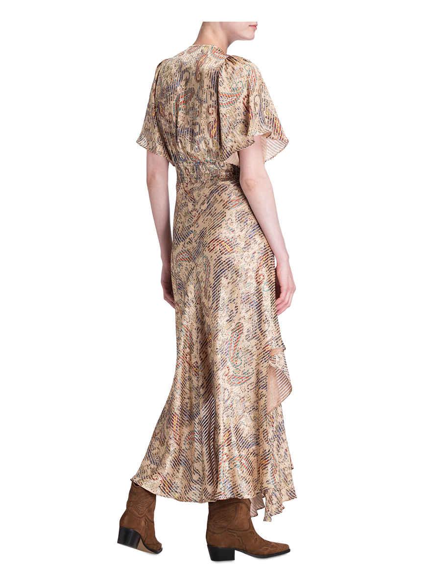 Maje BeigeBlauRot Rachel Kleid Kaufen Von Bei CsQrhdt
