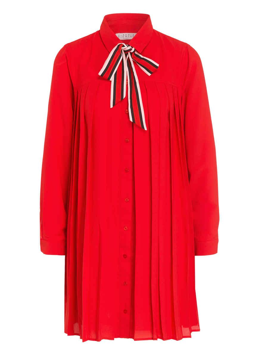 Pierlot Rot Lavallière Kaufen Bei Plissee Von kleid Claudie 6fYbygv7
