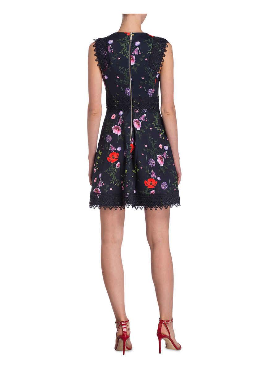 Kleid Baker Mayo Ted DunkelblauRotGrün Von Bei Kaufen Yfyb7gI6v