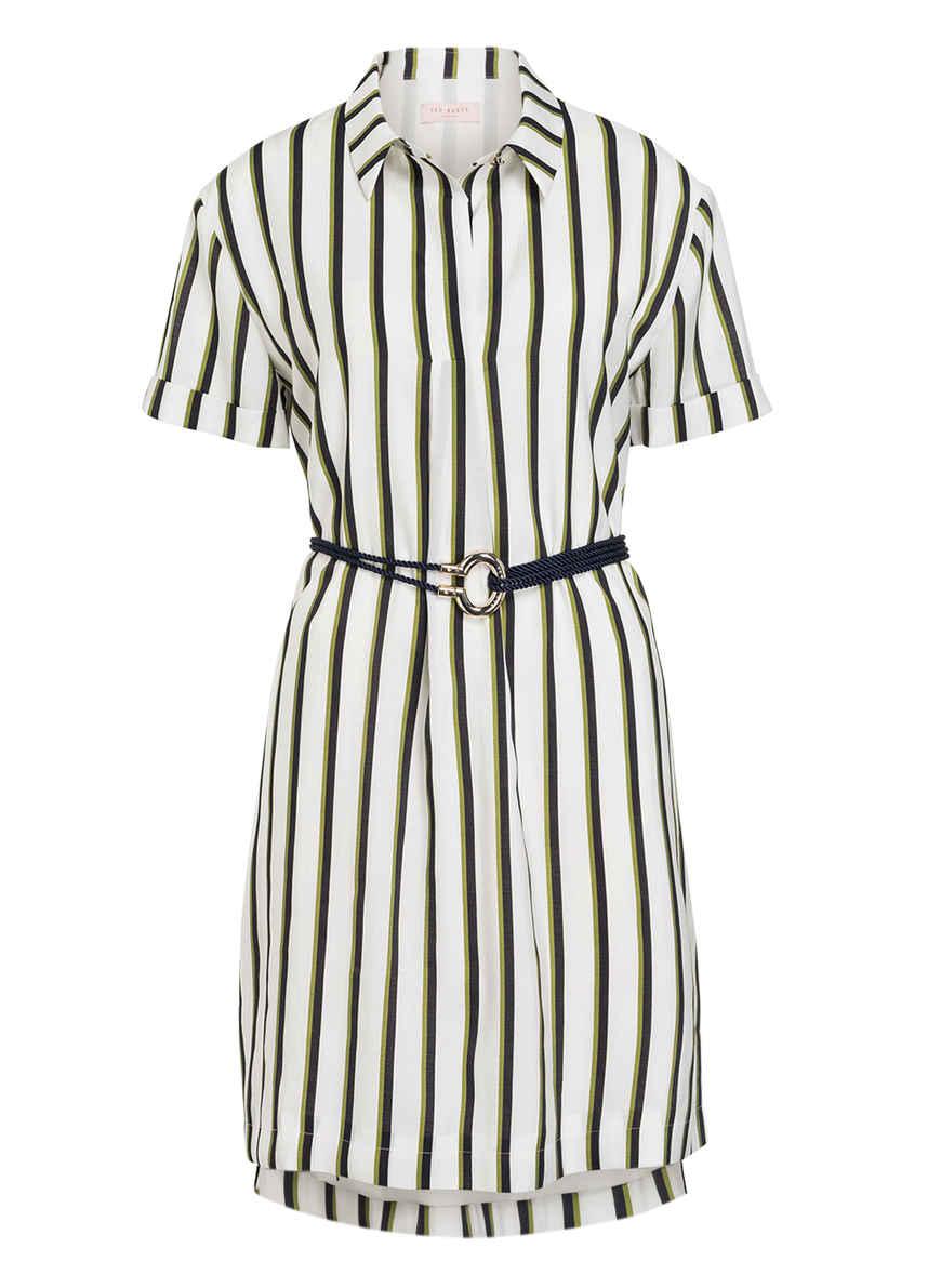 Kleid Olivee Von Kaufen Baker Gestreift Bei Ted WeissSchwarzOliv Rq5cj4A3L