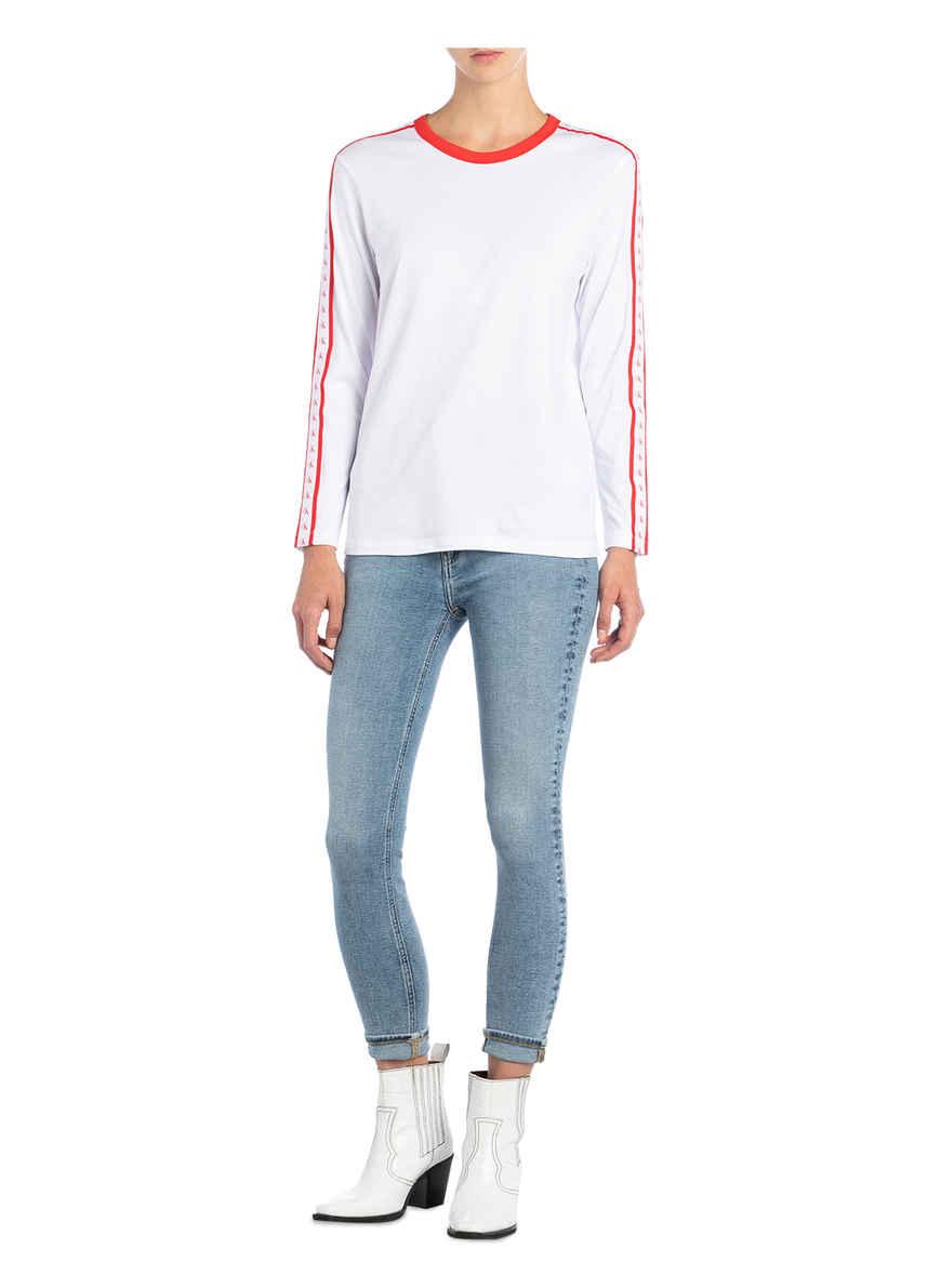 WeissRot Bei Kaufen Calvin Jeans Longsleeve Von Klein L3RAj54