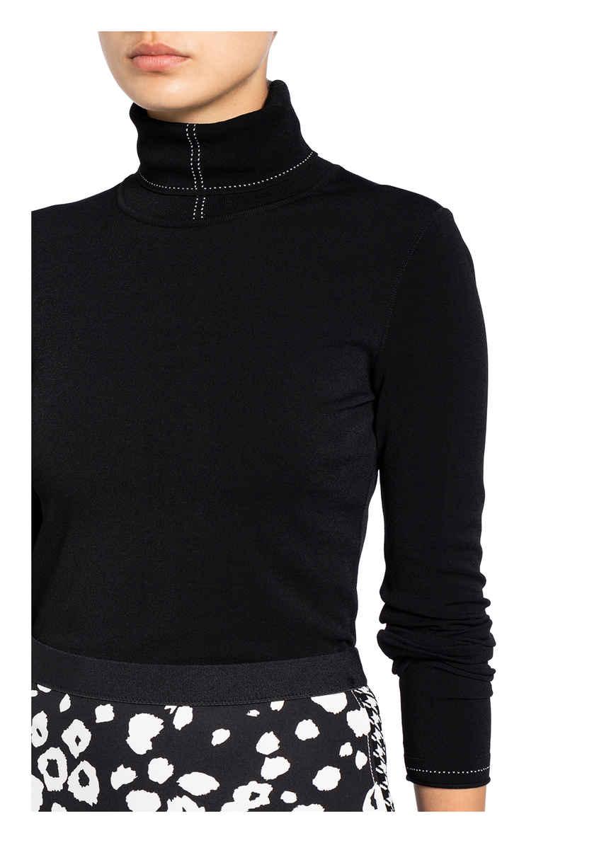 Rollkragenpullover Von Marccain 910 Black & White