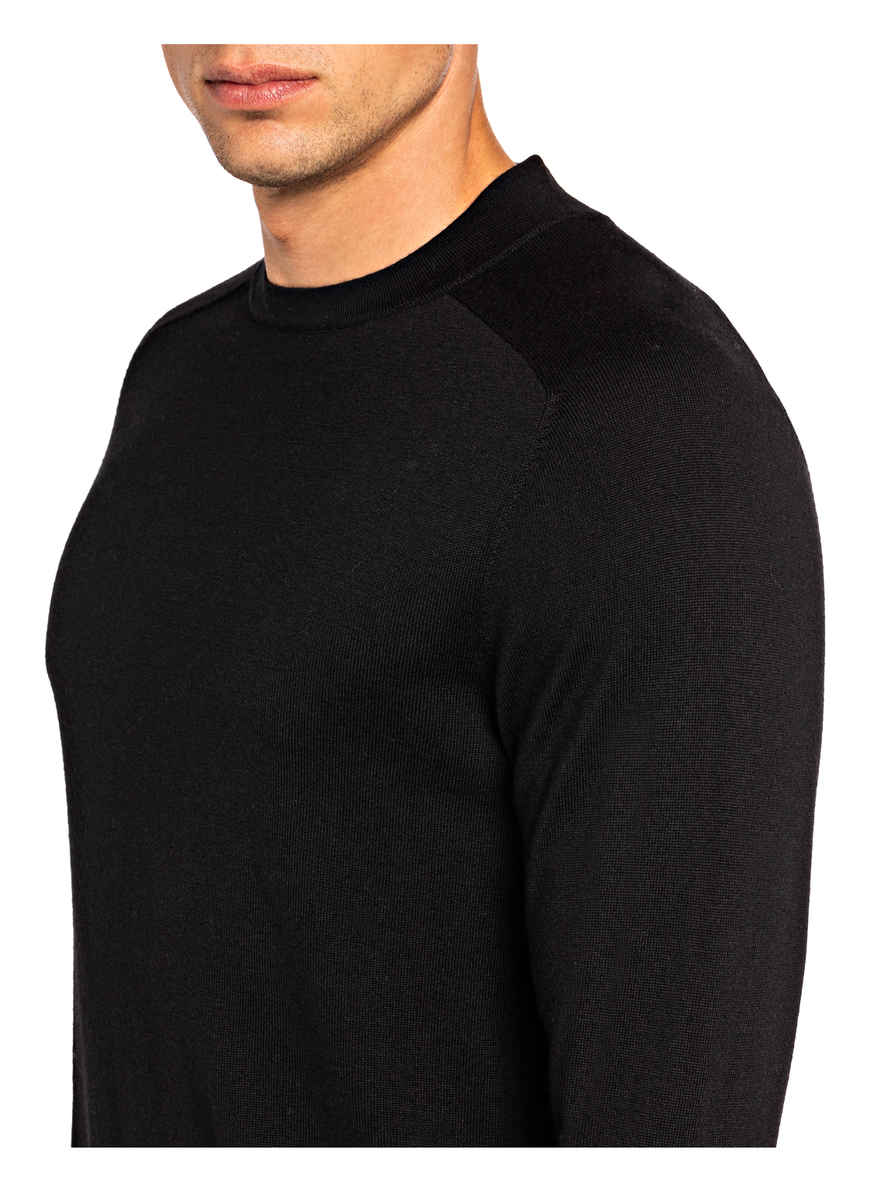 Schurwoll-pullover Parsek Von Drykorn Schwarz Black Friday