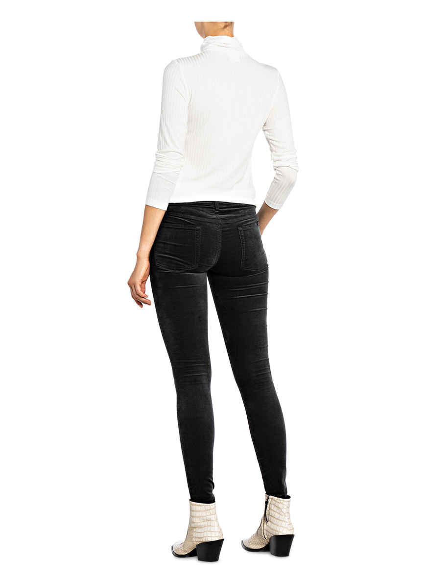 Skinny-jeans The Skinny Von 7 For All Mankind Grau