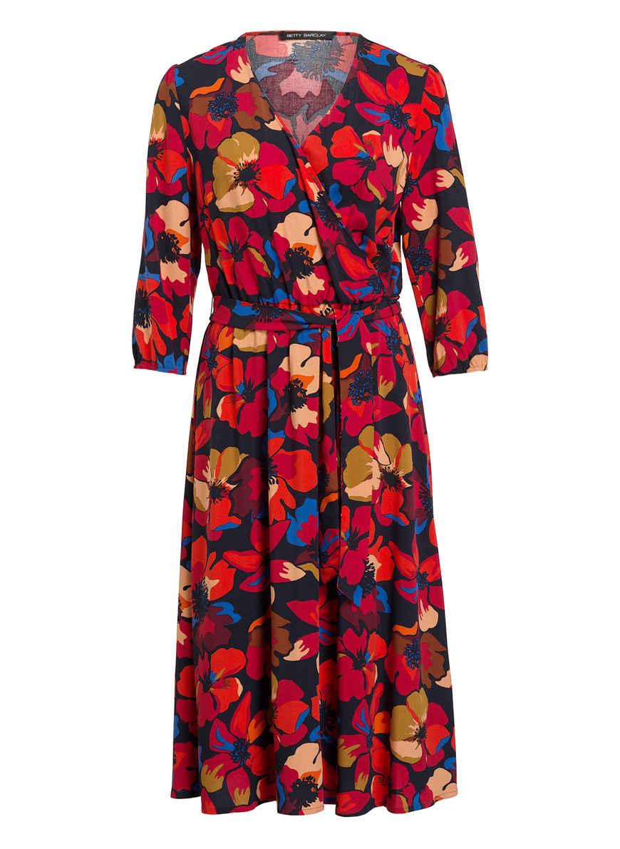 Kleid DunkelblauRotBlau Von Betty Kaufen Barclay Bei L54Ajc3RqS