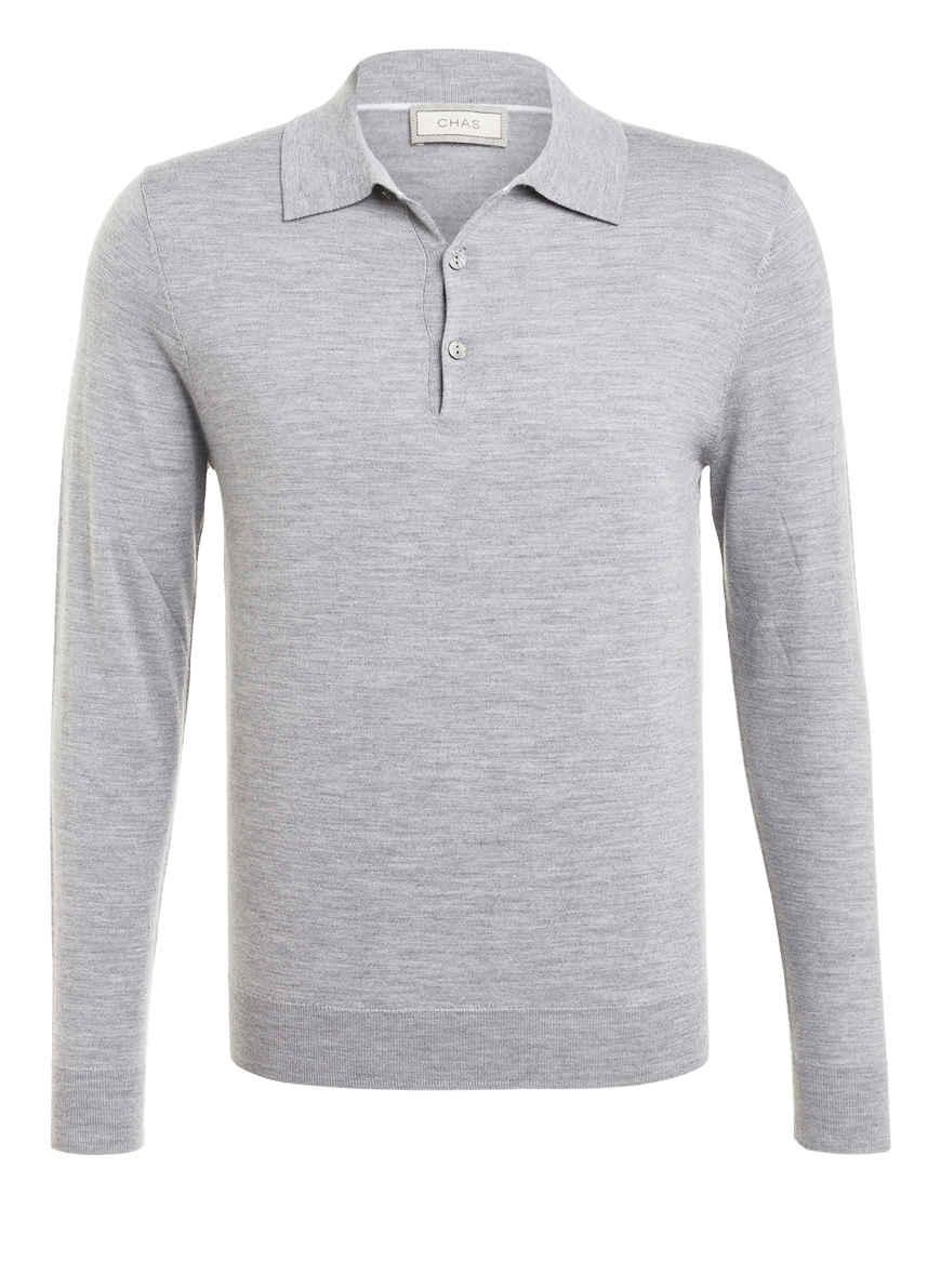 Von Chas Kaufen Meliert Bei Grau Poloshirt T1c3uJFlK