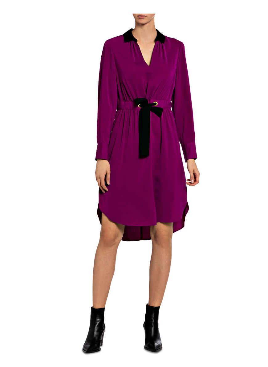 Kleid Hannah Von Damsel In A Dress Fuchsia/ Schwarz