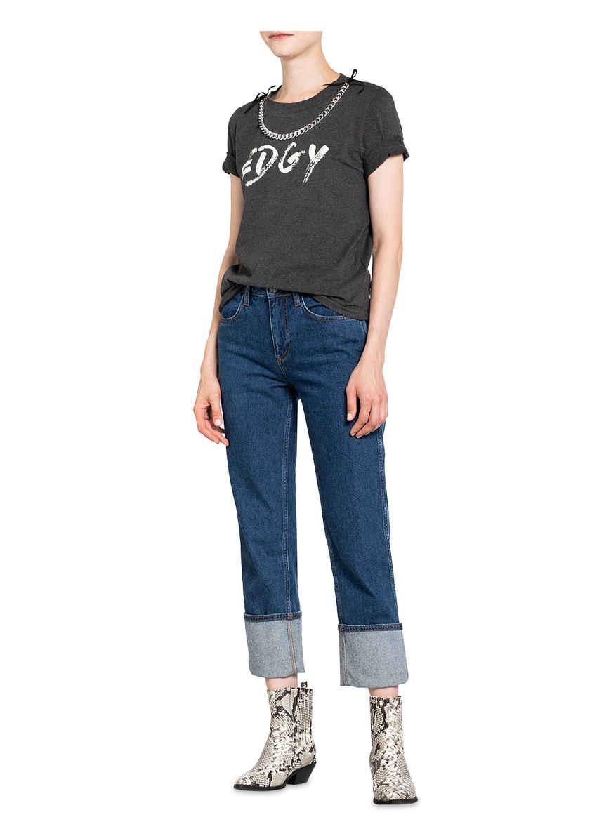 T-shirt Tedgyh Von Claudie Pierlot Grau