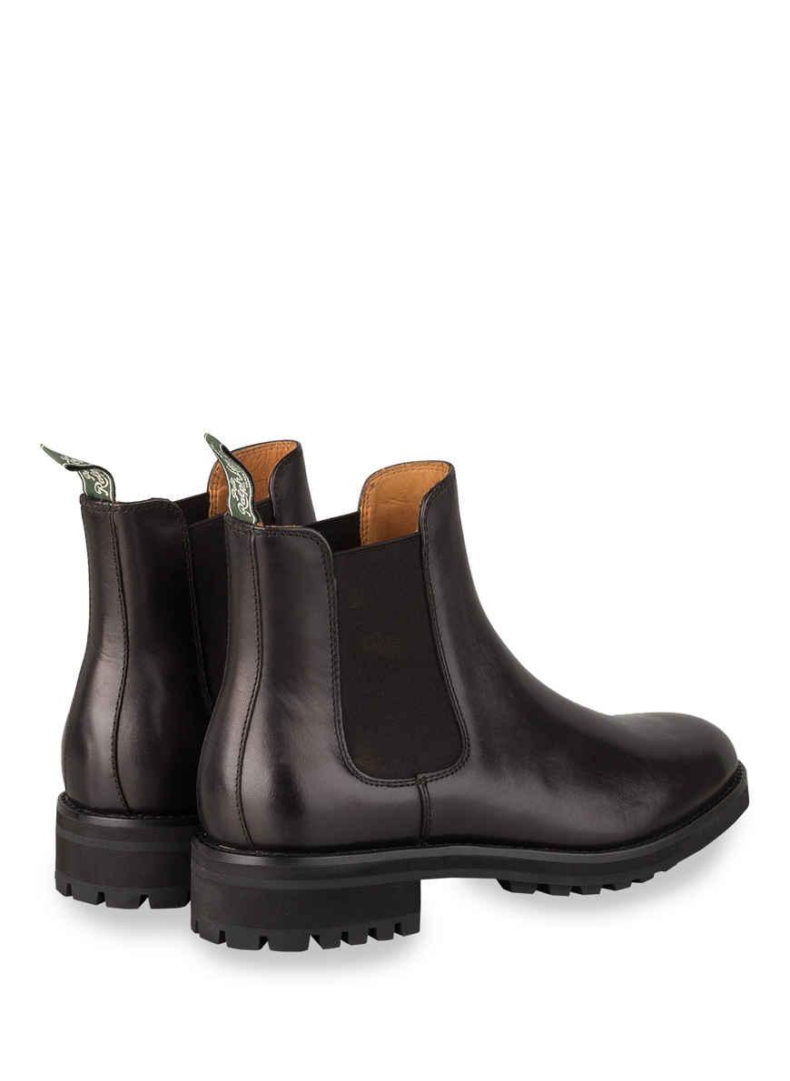 Chelsea-boots Bryson Von Polo Ralph Lauren Schwarz Black Friday