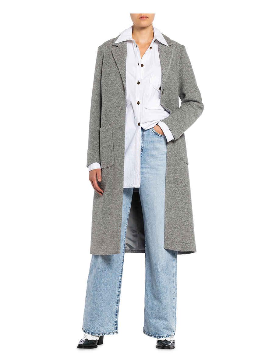 Mantel Von More & Grau Meliert