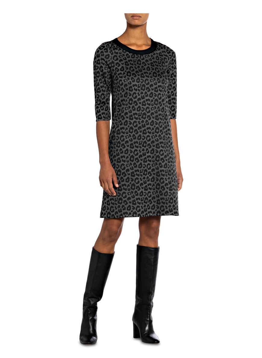 Kleid Von Robe Légère Grau/ Schwarz