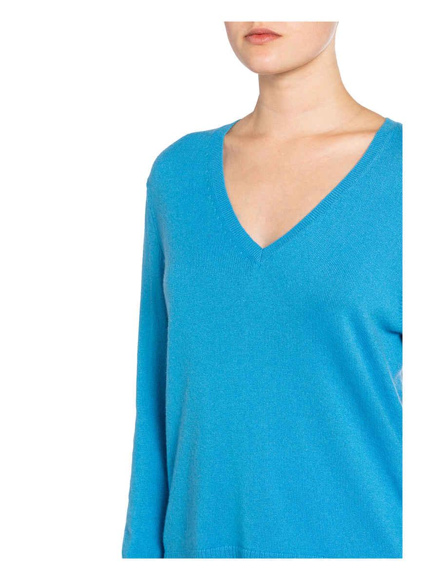 Pullover Aus Cashmere Von (the Mercer) N.y. Blau
