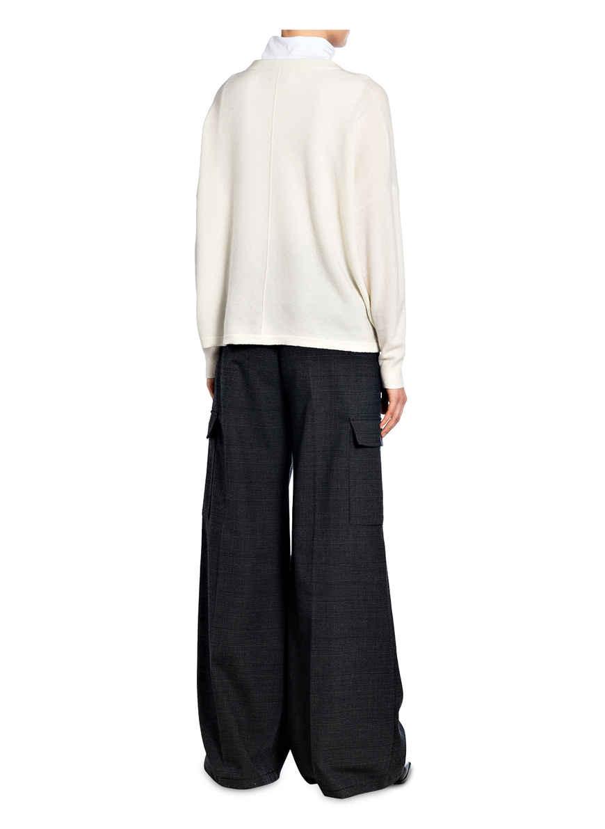 Pullover Von Mrs & Hugs Ecru