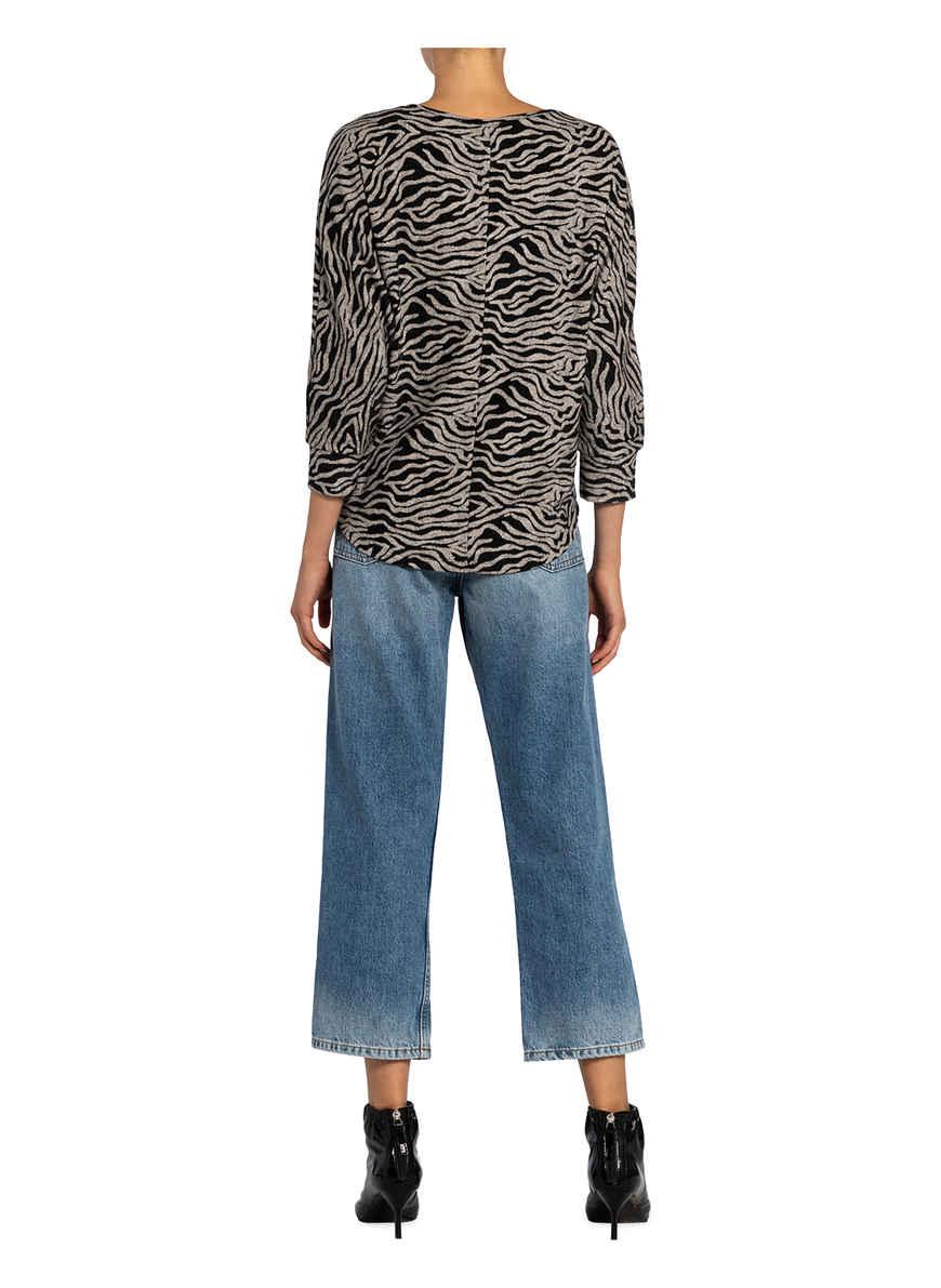 Pullover Martina Mit 3/4-arm Von Key Largo Grau/ Schwarz