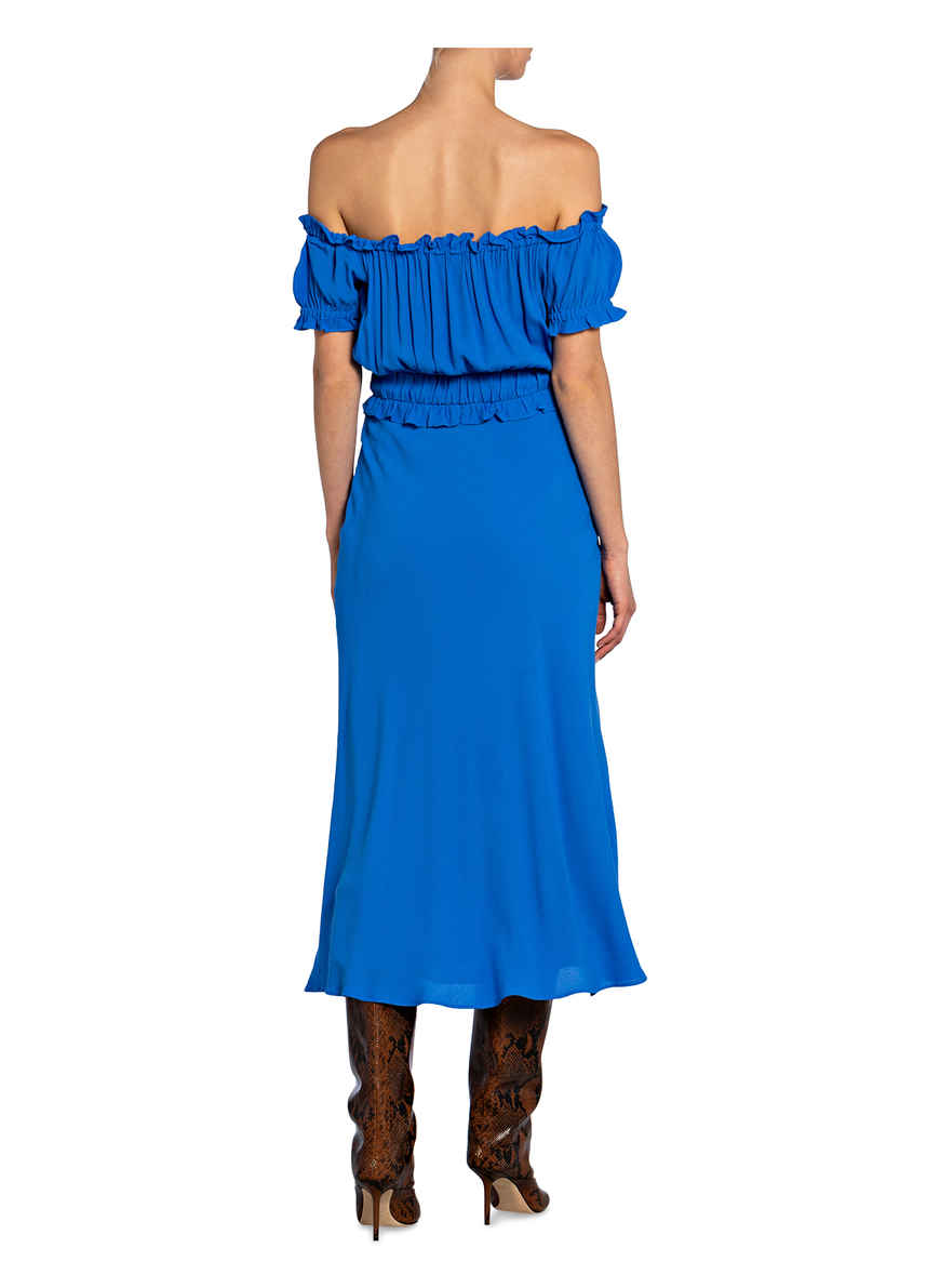 Off-shoulder-kleid Floren Von Whistles Blau