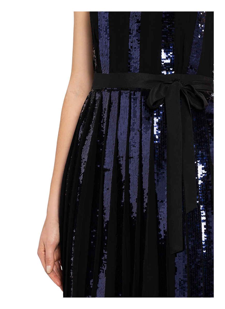 Kleid Alani Mit Paillettenbesatz Von Phase Eight Schwarz/ Dunkelblau