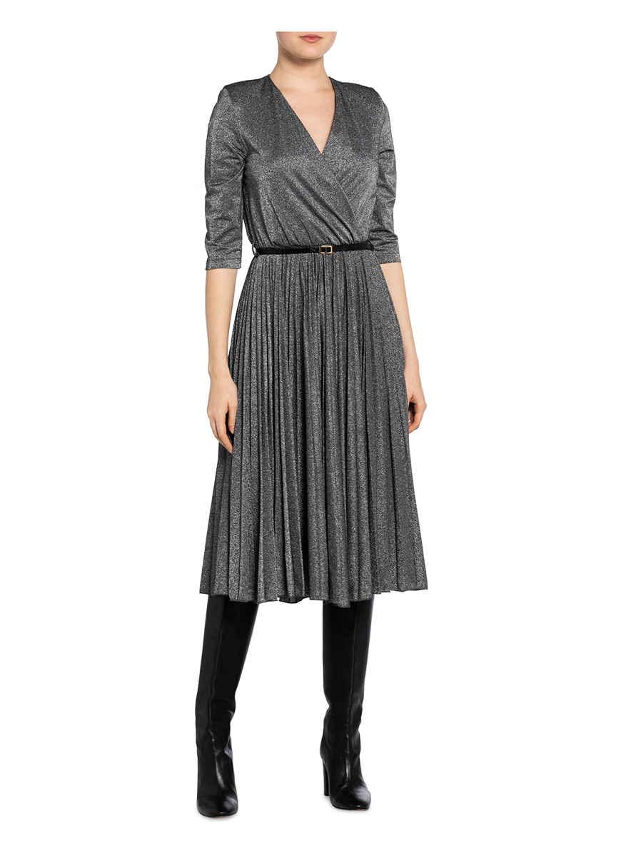 Kleid Mit 3/4-arm Von Rinascimento Schwarz/ Silber