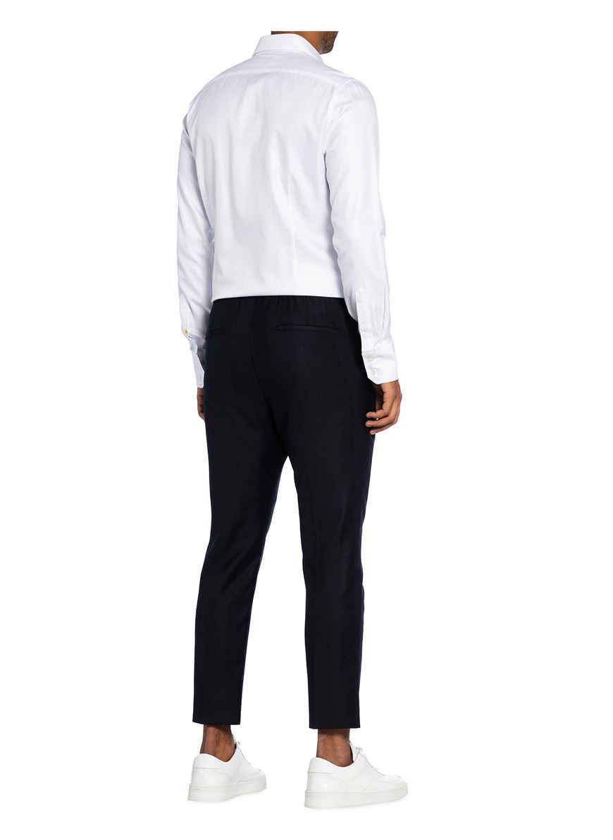 Hemd Ronny Extra Slim Fit Von Q1 Manufaktur Weiss Black Friday