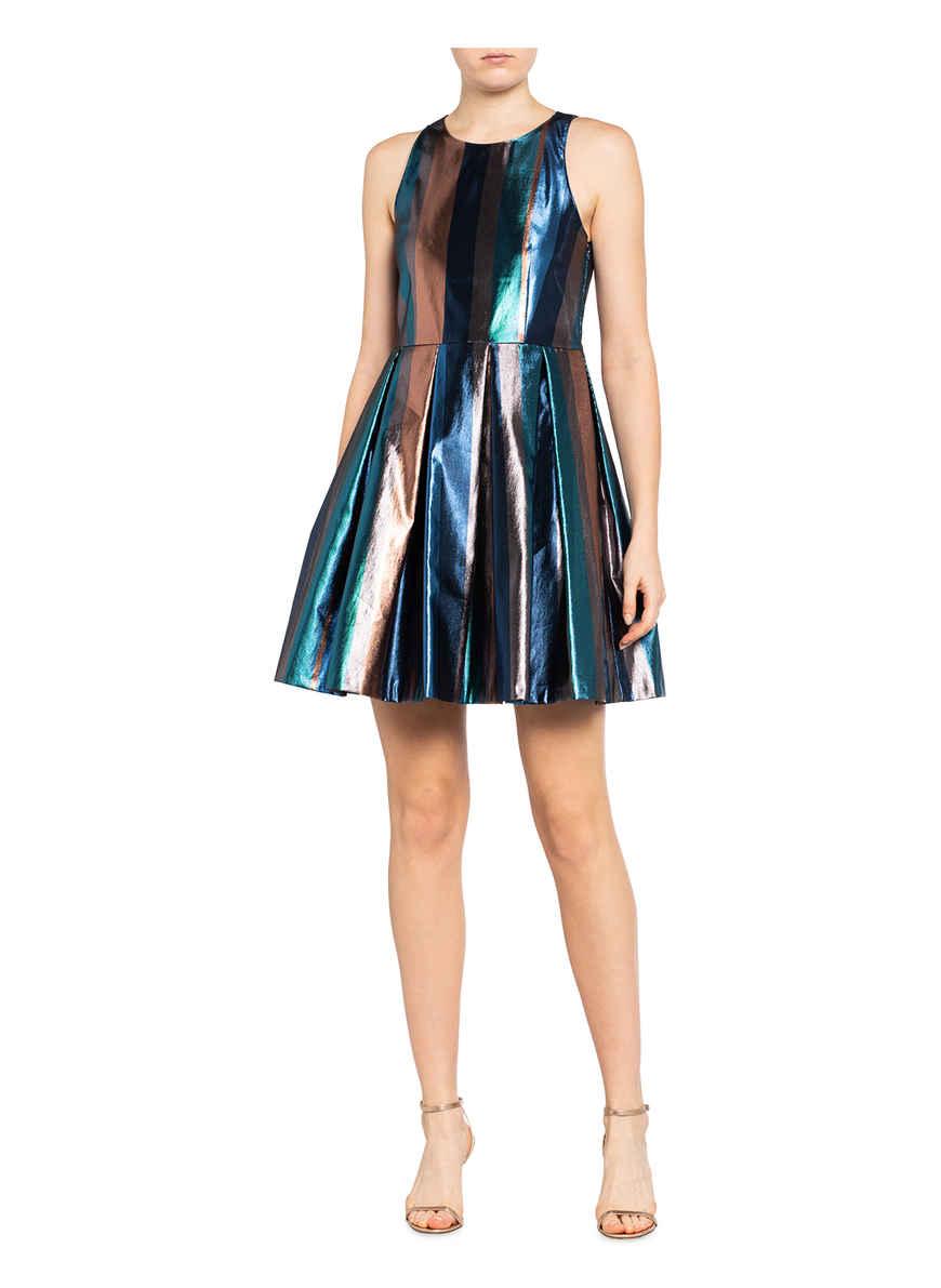 Kleid Panfilio Von Max & Co. Blau/ Braun/ Taupe