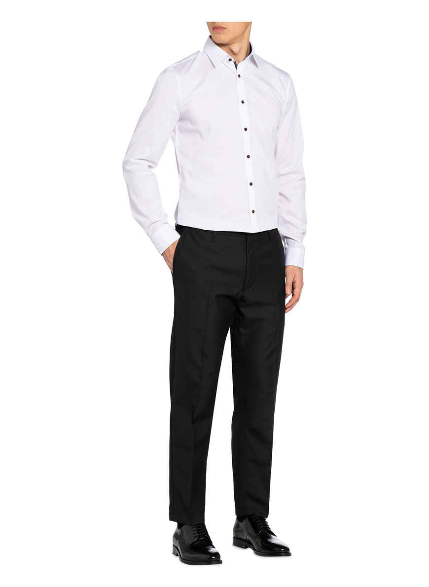 Hemd No. Six Super Slim Von Olymp Weiss Black Friday