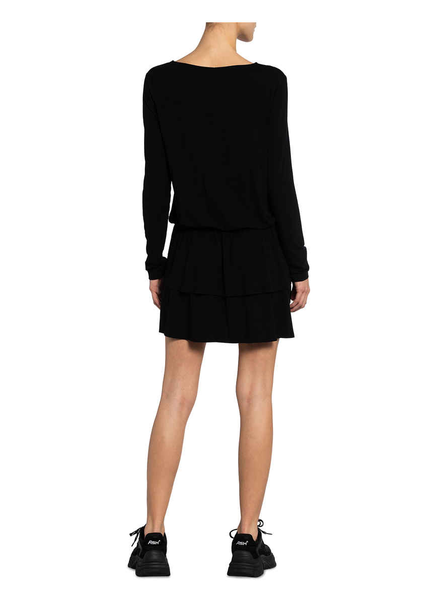 Jerseykleid Von Juvia Schwarz
