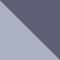 62327B*51 OPAL DARK AZURE/ CLEAR GRAD BLUE MIRROR SILVE
