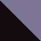 12025R - BLACK/ GREY CRYSTAL /LILAC MIRROR