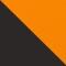 9013D9 - MATT SCHWARZ/ ORANGE VERSPIEGELT