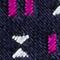 DUNKELBLAU/ PINK/ WEISS