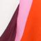 WEISS/ PINK/ ORANGE GESTREIFT