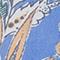 BLAU/ ORANGE/ WEISS