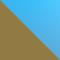 112/4L - GOLD/ BLAU POLARISIERT