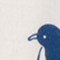 GRAU MELIERT/ DUNKELBLAU/ WEISS
