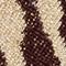 DUNKELROT/ BEIGE/ GOLD