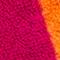 PINK/ ORANGE GESTREIFT