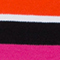 PINK/ ORANGE/ SCHWARZ GESTREIFT