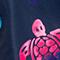 DUNKELBLAU/ PINK/ GELB