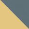9196R5 - GOLD/ BLAUGRAU