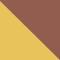 9196AF - GOLD/ BRAUN