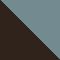 13163M - HAVANA/ HELLBLAU