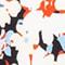HELLBLAU/ WEISS/ ORANGE
